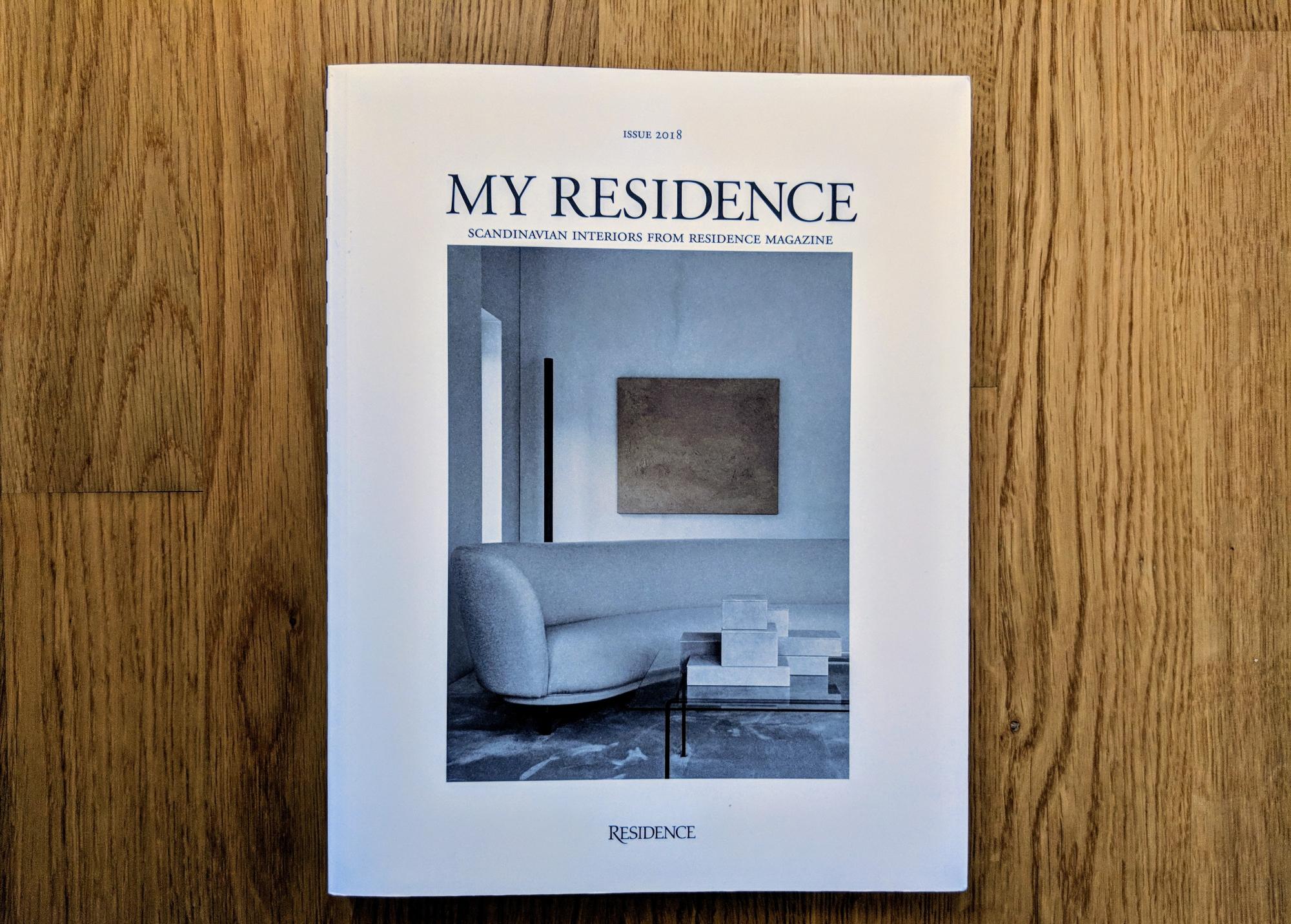 My Residence ist eine skandinavische Einrichtungszeitschrift.