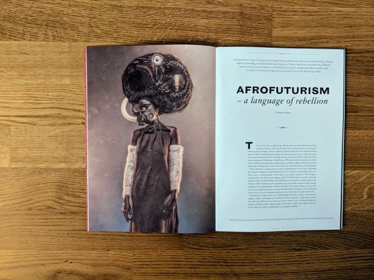 Afrofuturism in Scenario, a magazine by Copenhagen Institute for Future Studies