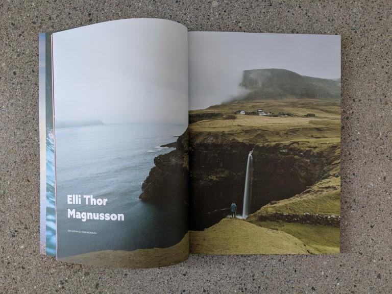 Waves & Woods Magazin auf Island