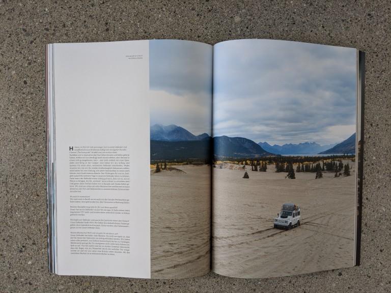 Waves & Woods Magazin quer durch Amerika mit Willy